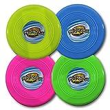 Frisbee, Wurfscheibe, Ideal für den Sommer, fürs Freibad, Pool oder Kindergeburtstage, Hundetraining, Aportieren, usw., Mitgebsel, Mitbringsel
