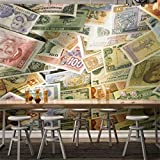 Carta Da Parati Foto Wallpaper Carta Da Parati Stereo Carta Moneta Sfondo Decorazione Della Parete Pittura Murale Personalizzato Ktv Bar Hotel Carta Da Parati