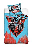 DC Batman Vs Superman Parure de lit Parure de lit pour enfant 140 x 200 cm