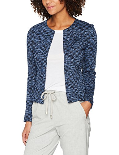 Tom Tailor Colourful, Blazer Donna Blu (Real Navy Blue 6593)