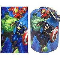 Avengers Marvel Los Vengadores niños dormir bolsa y correa Set