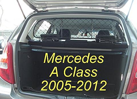 Trennnetz Trenngitter Hundenetz Hundegitter für Mercedes A Klasse 5 Türen BJ 2005-2012 (Test 2008)