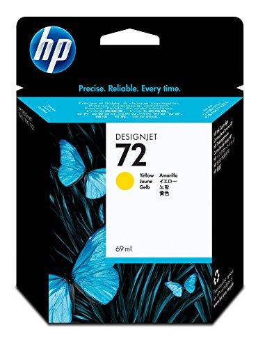HP 72 Gelb Original Druckerpatrone (69 ml) für HP DesignJet