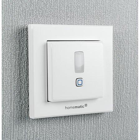 ELV Homematic IP Komplettbausatz Bewegungsmelder für 55er Rahmen HmIP-SMI55 mit 2-Kanal-Funksender, für Smart Home/Hausautomation