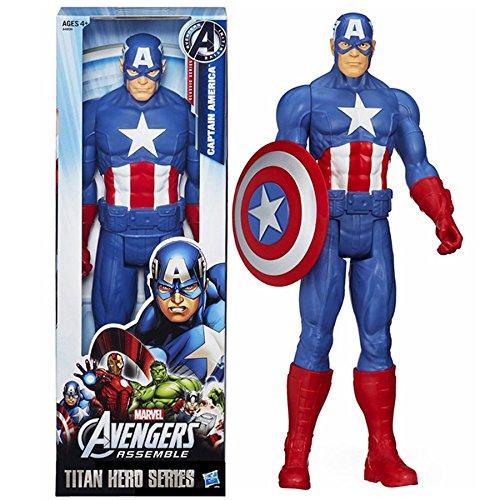 Super Hero Titan Series Captain America 12 inch Action Figure Avengers Toys