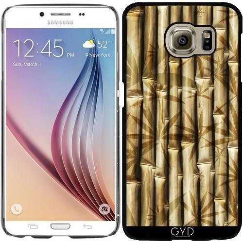 DesignedByIndependentArtists Hülle für Samsung Galaxy S6 (SM-G920) - Asien Bambus-Muster by WonderfulDreamPicture