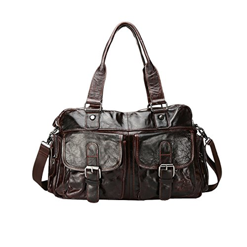 LAIDAYE Beiläufige Mannbeutel-Schulterbeutel Kurierbeutel-Manngeschäftshandtaschen-Aktenkoffer-Kuriertasche 1