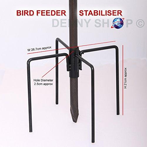 Wild Bird Feeding Station Stabiliser For Garden Outdoor Feet Ground Spikes Stand
