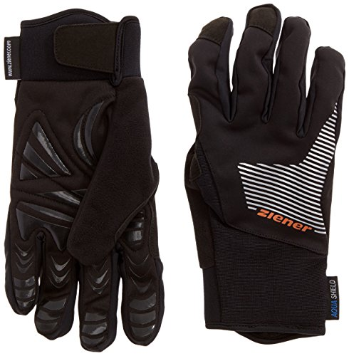 Ziener Herren Handschuhe UPS AS Gloves Cross Country Black, 9,5 Polyester Warm Ups