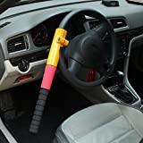 Mchoice Universal Heavy Duty Anti Theft Car Van Steering Wheel Lock Security Crook
