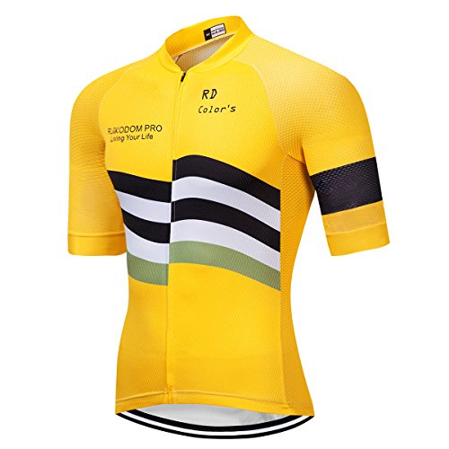 RUIKODOM Nuovo colletto Hombre Verano Cycling Jersey
