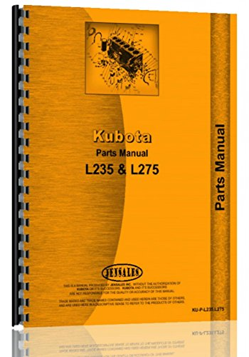 Kubota L235 Tractor Parts Manual