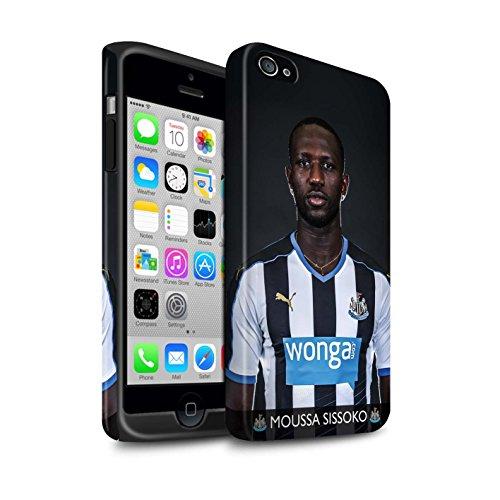 Offiziell Newcastle United FC Hülle / Matte Harten Stoßfest Case für Apple iPhone 4/4S / Pack 25pcs Muster / NUFC Fussballspieler 15/16 Kollektion Sissoko