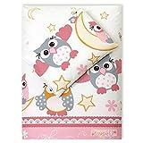 4tlg. Babybettwäsche Set Baumwolle Kinderbettwäsche Bettwäsche Baby Decke Kissen
