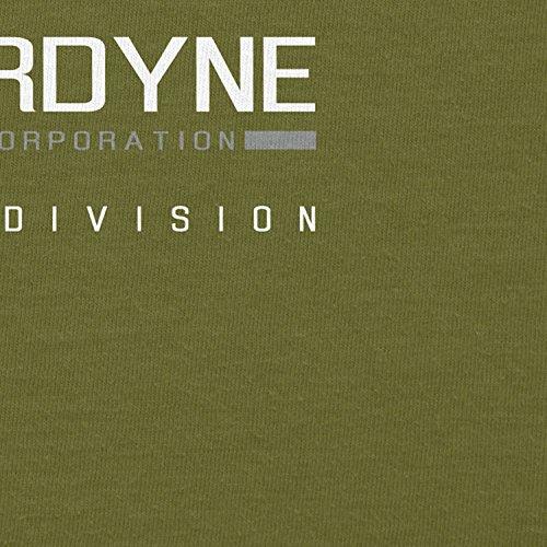 TEXLAB - Cyberdyne Special Edition - Herren T-Shirt Oliv