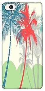Snoogg Hawaii Hard Back Case Cover Shield For Xiaomi Mi4i / Mi4I