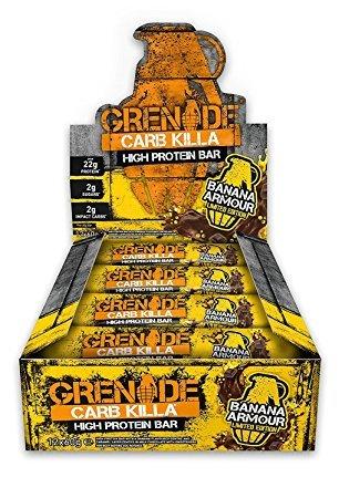 Grenade Carb Killa 12 x 60g - Banana Armour