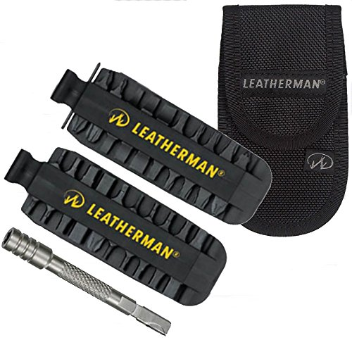 Leatherman Kit ultime d'accessoires 42 embouts avec extendeur d'embout et étui de ceinture