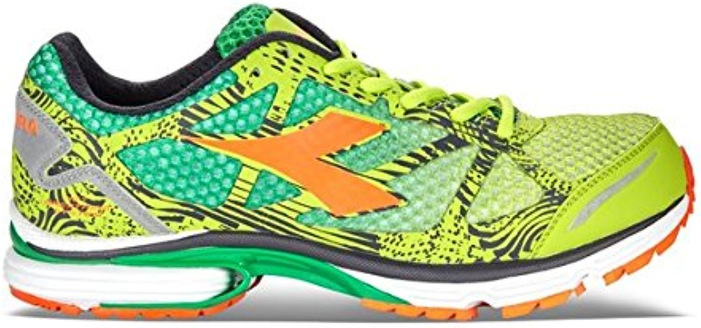 Diadora N-6100 – 3, Zapatillas de running para hombre, verde, 40 1/2 EU