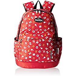 Frozen Nylon 43 cms Red Children's Backpack (Age group :6-8 yrs)