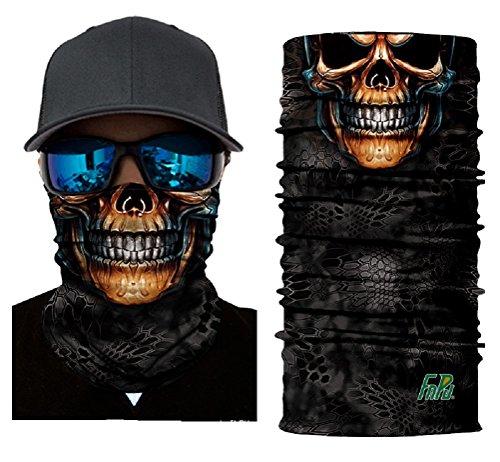 ILOVEDIY Multifunktionstuch Totenkopf Horror Maske Clown Halstuch Halloween Kostüme Motorrad Ski Jagen Fahrrad (#2)