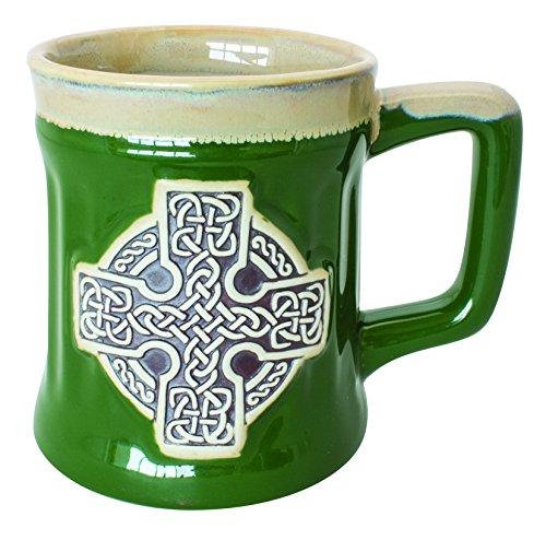 ischem Design eines keltischen Kreuzes, grün ()