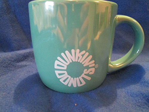 new-dunkin-donuts-asst-color-lustre-green-ceramic-mug-cup-14-oz-by-dunkin-donuts