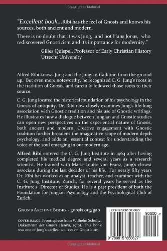The Search for Roots: C. G. Jung and the Tradition of Gnosis