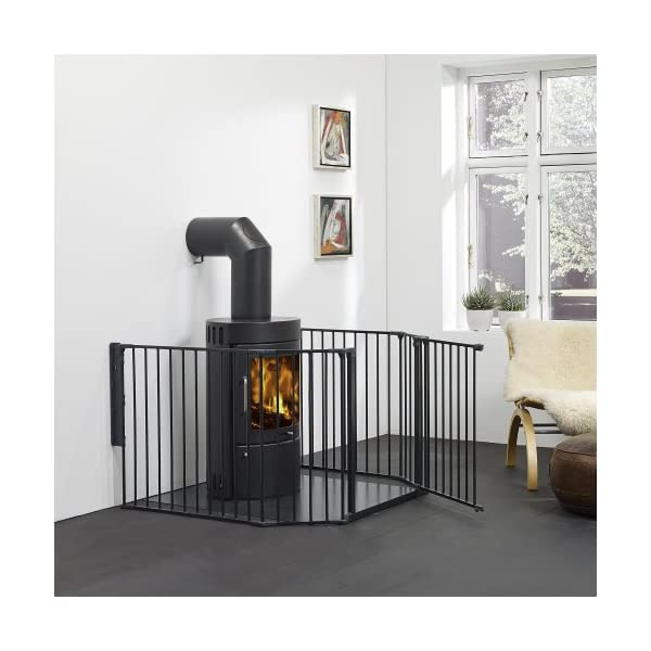 BabyDan Configure Gate Extra Large Black  Includes 1x 72cm Gate Panel, 2x 33cm Panels, 2x 72cm Panels and Wall Mounting Kit Multiple purposes: Can be used as a safety gate, hearth gate, room divider or play pen Flexible and easy to fit. One handed operation. Two way opening 2