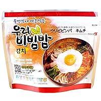 MRE Meals Ready to Eat 1 Pack of Bibimbap Korean Mixed Rice Bowl100g (3.53oz) 335 Kcal (Kimchi) by Woori Bibimbap 21