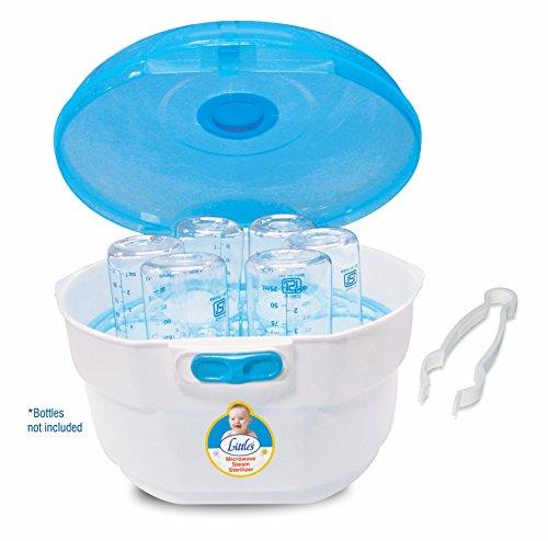 Little's Microwave Steam Sterilizer (White)