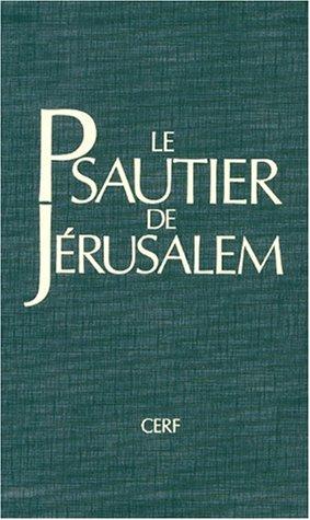 Le Psautier de Jérusalem