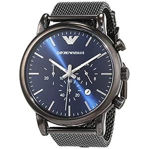 Emporio Armani Herren-Uhr AR1979, Schwarz