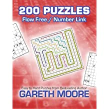 Flow Free / Number Link: 200 Puzzles by Gareth Moore (2013-04-18)