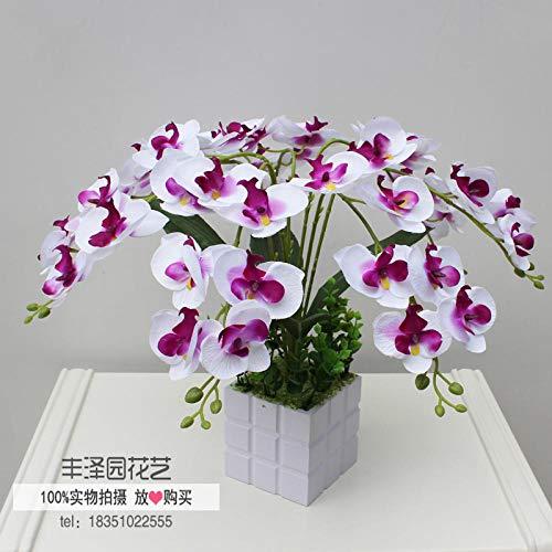AP Auple Phalaenopsis Simulationspakete fühlen künstliche Blumen dekorative Blumen Chinese Desktop-floralen Ornamenten Hause Wohnzimmer Rezeption