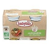 Babybio Petit Pot Jardinière de Légumes 4+ Mois 260 g - Lot de 3