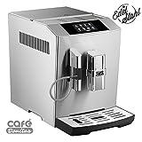 ONE-TOUCH✔ Kaffeevollautomat✔ Edelstahlgehäuse✔ silber-gebürstet✔ Café Bonitas✔ Tech1✔ Touchscreen✔ Dualboiler✔ 19 Bar✔ ✔ Kaffeeautomat✔ Kaffeemaschine✔ Kaffee Espresso Latte Kaffee