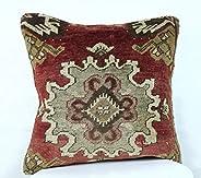 Kelim Cuscino 40x40 cm fatto a mano turco prodotto federe kilim dekorativo orientale etnici cuscino A326