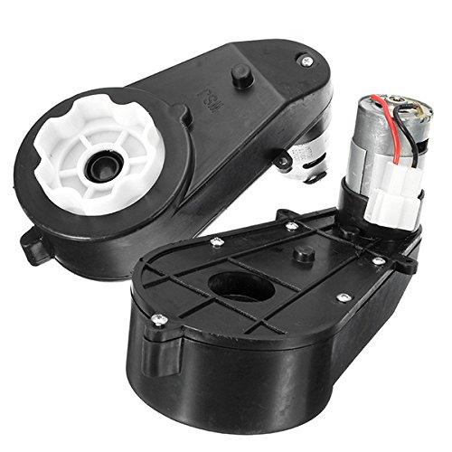YONGYAO 12V 12000Rpm Caja De Engranajes De Motor Eléctrico para Niños Paseo Coche Hummer Jeep