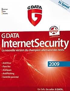 G Data internet security 2009 (3 postes, 1 an)