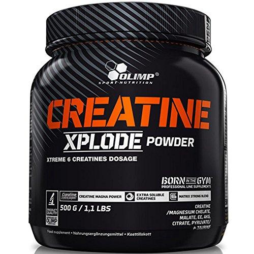 Olimp Nutrición Creatina Xplode polvo combinación de 6tipos de creatina avanzada