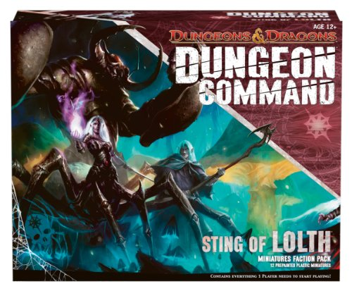 Wizards of the Coast 397530000 - Dungeon Command - Sting of Lolth, Brettspiel Band In A Box 2012