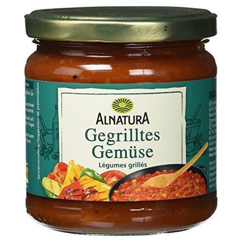 Alnatura Bio Tomatensauce Gegrilltes Gemüse, 350 ml