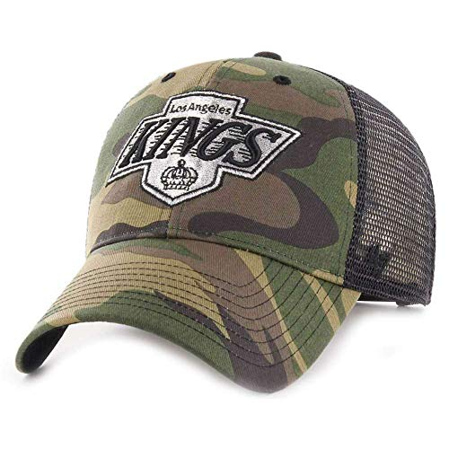 Fanartikel NHL Detroit Red Wings Camo Branson 47 Brand Trucker Cap Kappe Hockey Herren