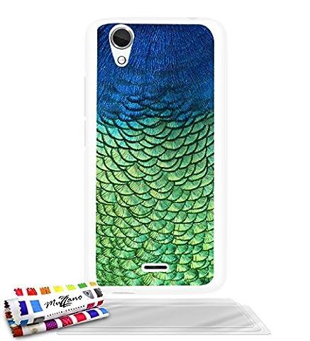 Wiko Birdy 4g Bleu Vert - Coque rigide Ultra-Slim WIKO BIRDY 4G au