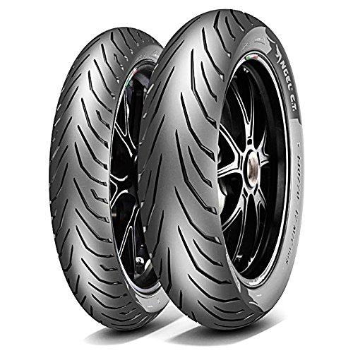 Paire Pneu pneus Pirelli ANGEL City 100/80 - 17 52S 130/70 - 17 62S