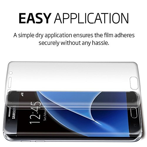 Premium Screen Protector For Samsung Galaxy S7 Edge (Transparent)