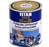TITAN - Patente autopulimentable velocidad media mate sedoso azul intenso 2,5l