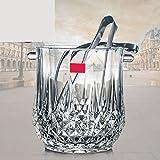 HONGLIBar Crystal Glass Ice Bucket KTV/Home Cold Barrel Night Club Barril de Hielo frío