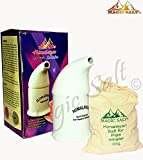Salt Inhaler with 100% Pure Himalayan Salt crystals 300 gm in High Quality white Porcelain Pipe By MAGIC SALT ®